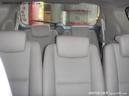 深受大家期待的江淮和悦rs七座,目前已现车到店, 7座多增加高清图片