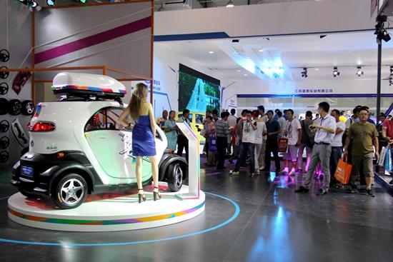 """""""2015山东国际节能与新能源汽车展览会"""",在济南国际会展中心隆重开幕."""