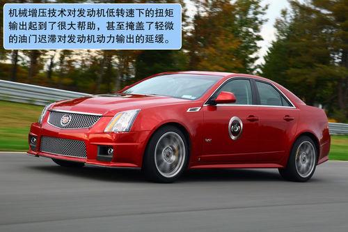 最快的四门v8轿车 北美测凯迪拉克cts-v